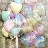 Воздушные шарики кристалл разноцветные 2