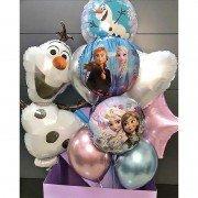 """Комплект шаров Холодное сердце """"Праздничный сюрприз"""""""