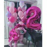 """Комплект шаров с Литл Пони """"Утро в розом цвете"""""""