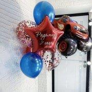 Комплект шаров Вспыш на день рождения