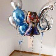 Комплект шариков с трансформерами на 6 лет