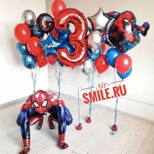 Воздушные шары Человек паук на день рождения
