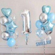 """Украшение шарами детского дня рождения """"Волшебный год"""""""