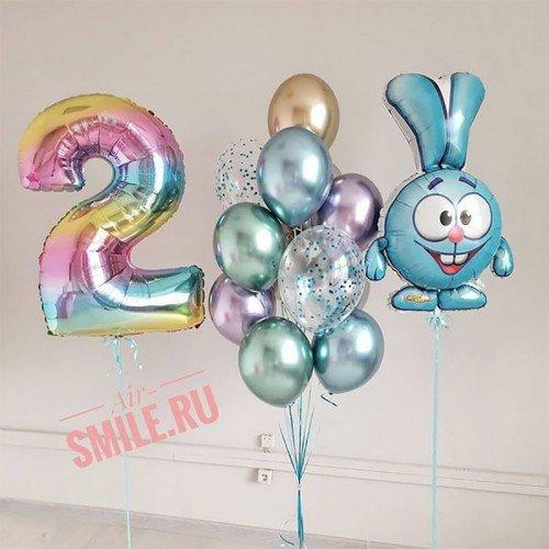 Шары Смешарики на день рождения