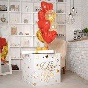 Воздушные шарики для взрослых в коробке сюрприз