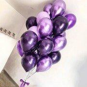Воздушные шары для взрослых фиолетового цвета