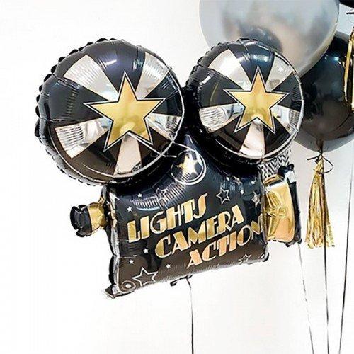 Воздушный шар фигура кино камера