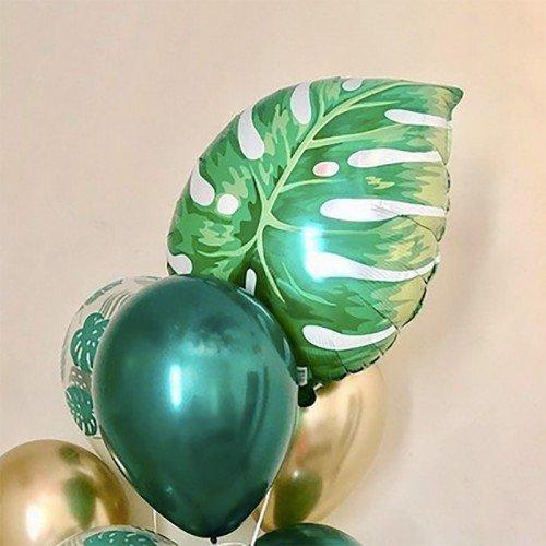 Воздушный шарик фигура листка