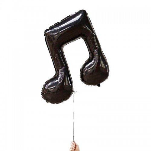Шарик воздушный в форме музыкальной ноты