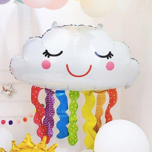 Воздушный шар в виде облака