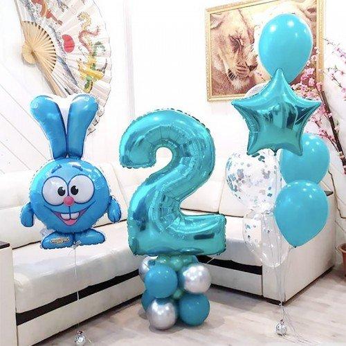 Шары со Смешариками на день рождения