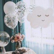 """Воздушные шарики на рождение ребенка """"Облачко"""""""