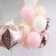"""Воздушные шары на рождение ребенка """"Сюрприз"""""""
