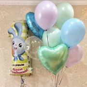 "Шары Малышарики на 1 год ""Крошка Крош"""