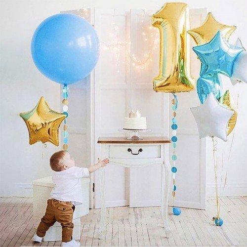 Шары воздушные на 1 год мальчику