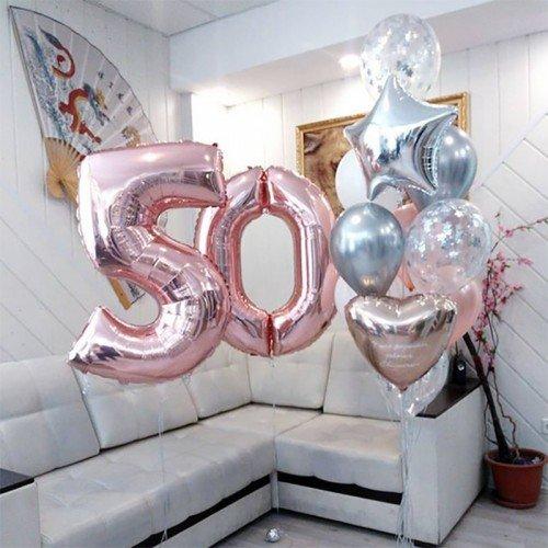 Купить шары на день рождения 50 лет
