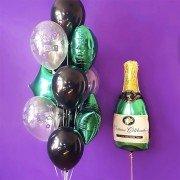"""Набор шаров для директора """"Брызги шампанского"""""""