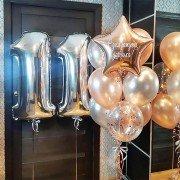 """11 лет воздушные шары """"Идеальное сочетание"""""""