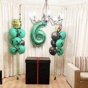 """Воздушные шары для мальчика 6 лет """"Майнкрафт"""""""