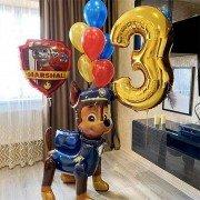 """Шары на день рождения ребенку 3 года """"Любимый патруль"""""""