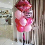"""Шарики на день рождения 18 """"Воздушный поцелуй"""""""