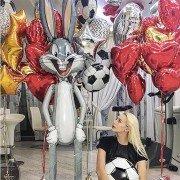 """Воздушные шары на 15 лет """"Мультяшный мир"""""""