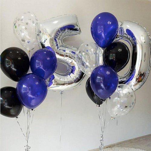 50 лет шары гелиевые