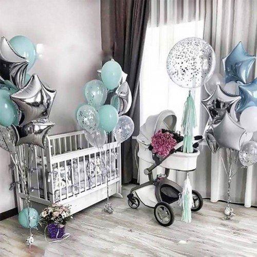 Доставка шаров на рождение ребенка