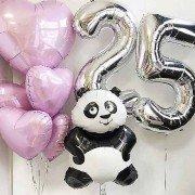 """Шары 25 лет """"Панда"""""""