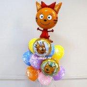 """Комплект шаров Три кота """"Озорная Карамелька"""""""