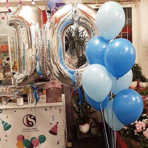 Воздушные шары для мальчика 10 лет
