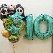 """Воздушные шары для мальчика 10 лет """"Майнкрафт"""""""