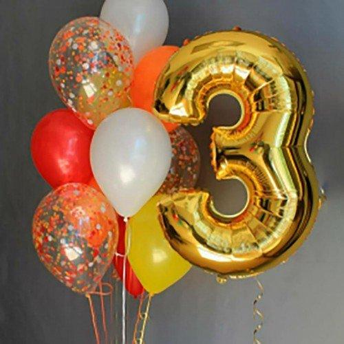 Шары на день рождения 3 года