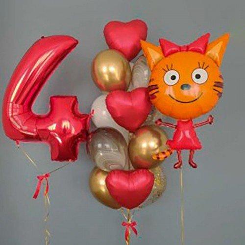 Шары на день рождения девочке 4 года