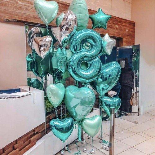 Воздушные шары 8 лет