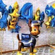 """Шарики на день рождения мальчику 4 года """"Щенячий патруль"""""""