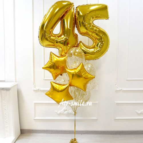 Шары на день рождения мужу