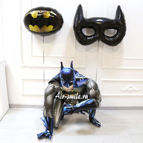 Шарики в стиле Бэтмен