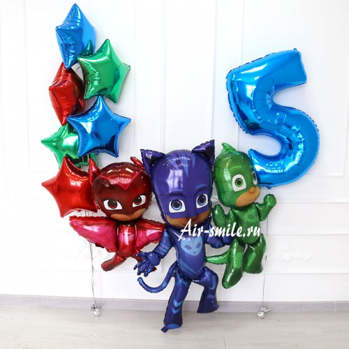 Шары на 5 лет мальчику фото