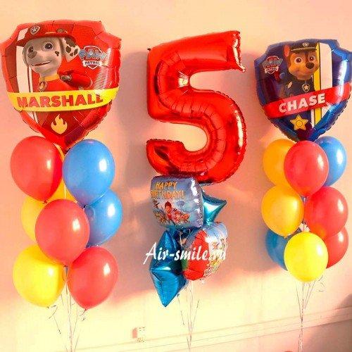 Шары на день рождения ребенка 5 лет