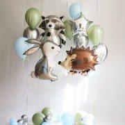 Воздушные шары на 2 года мальчику Дружная компания
