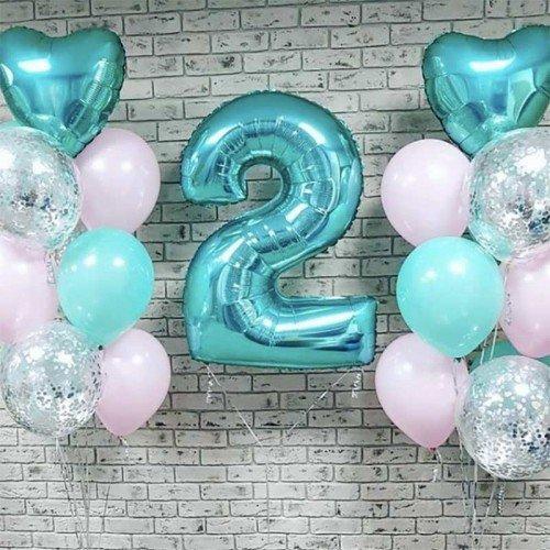 Набор воздушных шаров на день рождения