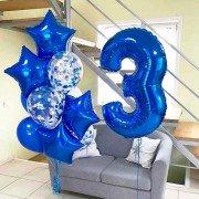 """Шары на день рождения мальчику 3 года """"Небосклон"""""""
