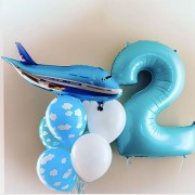 """Шары на 2 года мальчику """"Самолеты"""""""