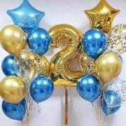 Шары на день рождения 2 годика Звездочка