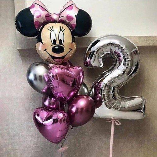 Шары с Минни Маус на день рождения