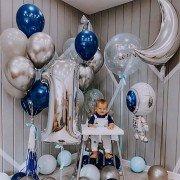 """Комплект шаров на 1 год """"Ты наш космос"""""""