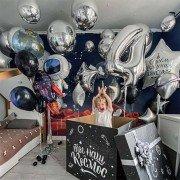 """Комплект шаров в стиле космос """"Вселенское веселье"""""""
