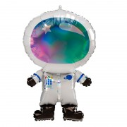 "Шар фигура ""Космонавт цвета градиент"" 71 см"