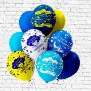 """Воздушные шары для мальчика """"Самолетики"""""""